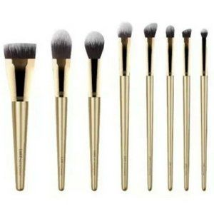 Luxie  Glitter & Gold 8 piece Brush Set with Case